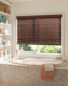 Plaswood 50mm Mahogany - Bathroom