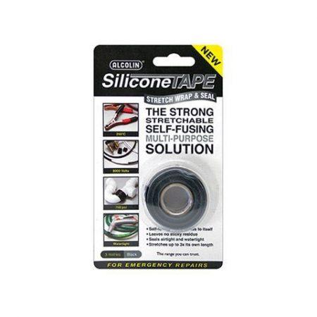 Alcolin Silicone Tape Black