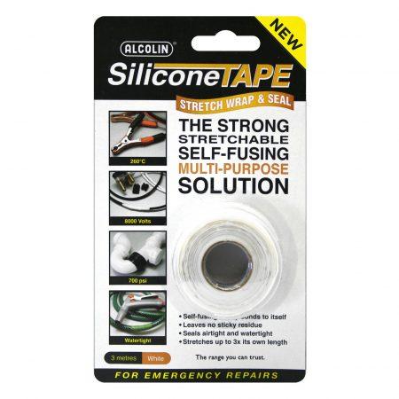 Alcolin Silicone Tape White