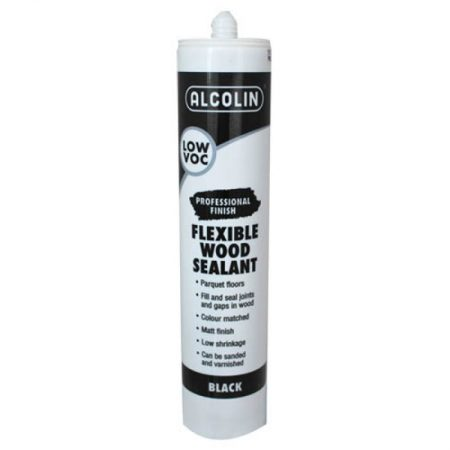 Alcolin flexible wood sealant black