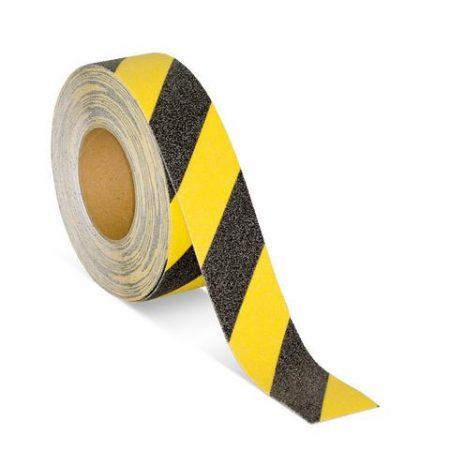 Anti-Slip Grit Tape Black & Yellow