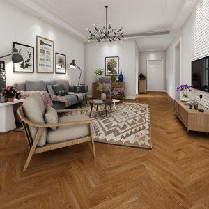 Authentic-oak-herringbone-loung-flooring
