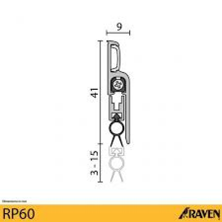 RP60 - Automatic Door Seal 1
