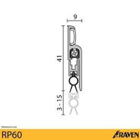 RP60 - Automatic Door Seal 1